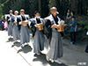 白山神社献饌行列